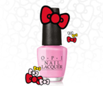 Новая коллекция Hello Kitty от OPI
